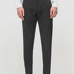 PANTALONI SLIM FIT IN TESSUTO STRETCH DAVANTI