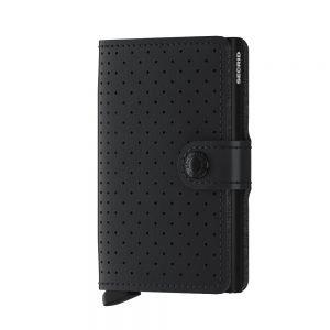 SECRID Miniwallet Perforated Black 9