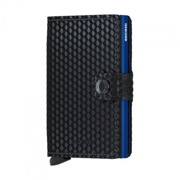 SECRID Miniwallet Cubic Black-Blue 1