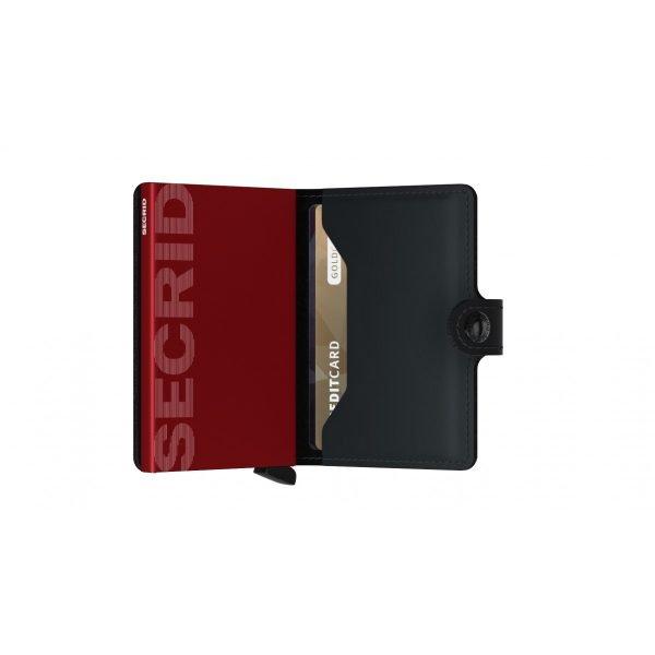 SECRID Miniwallet Rango Black 3