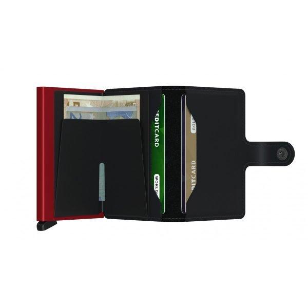 SECRID Miniwallet Rango Black aperto 2