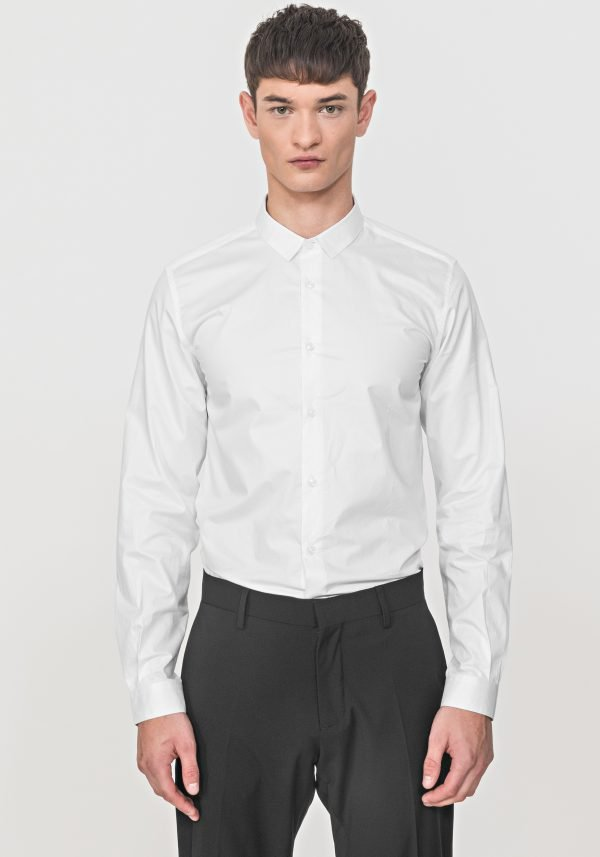 CAMICIA ANTONY MORATO SLIM FIT IN MORBIDO COTONE DAVANTI