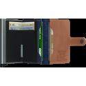 SECRID Miniwallet Indigo 5-Titanium aperto