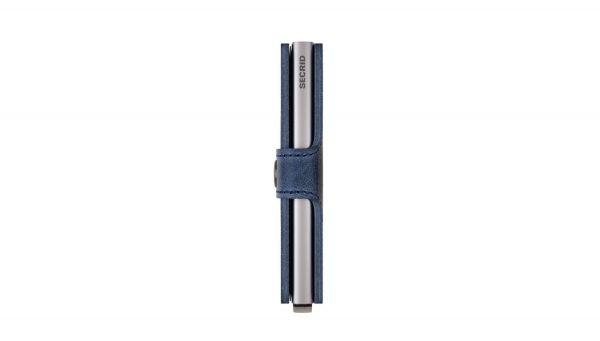 SECRID Miniwallet Vintage Blue laterale