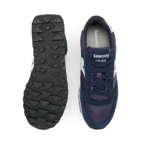 Sneakers Saucony Jazz Original (Blu scuro) sopra e sotto