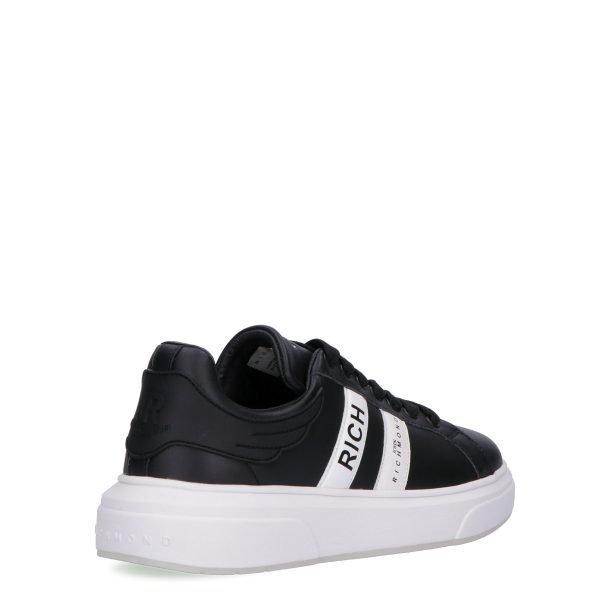 Sneakers Basse John Richmond nera dietro