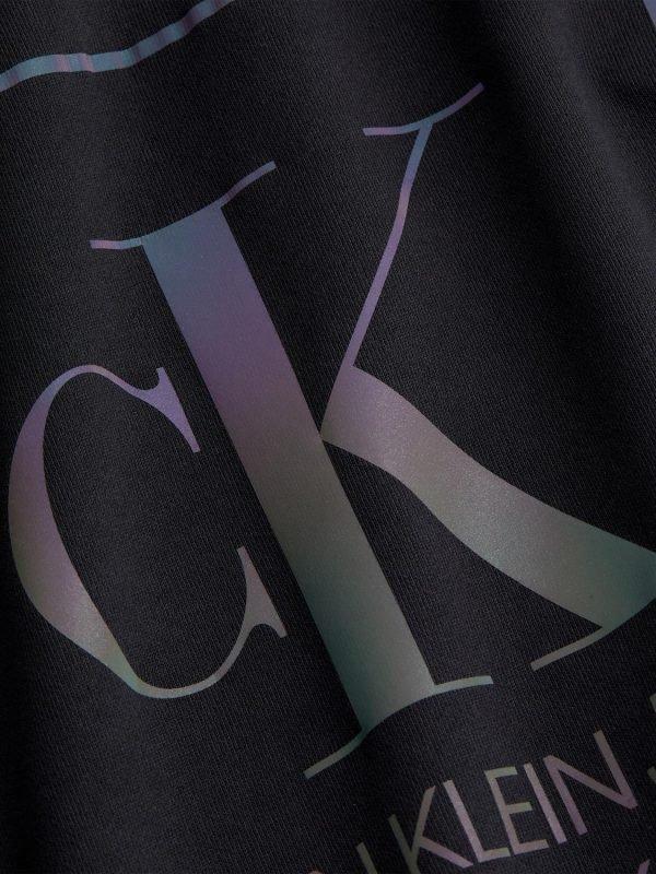 T-SHIRT Calvin Klein nera scritta