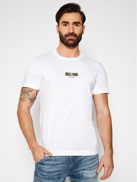 T-shirt Calvin Klein davanti 1