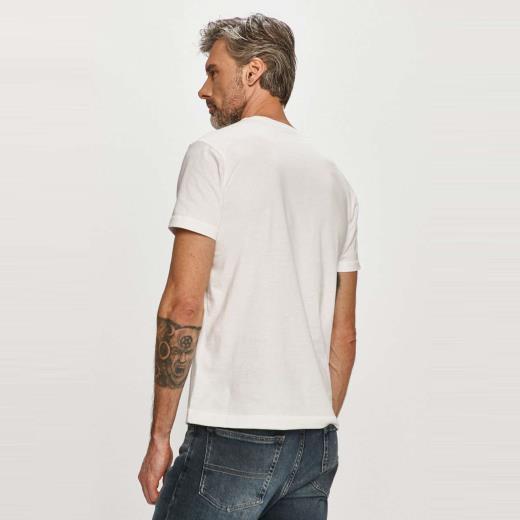 T-shirt Calvin Klein dietro