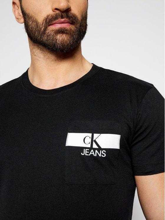 T-shirt Calvin Klein nero