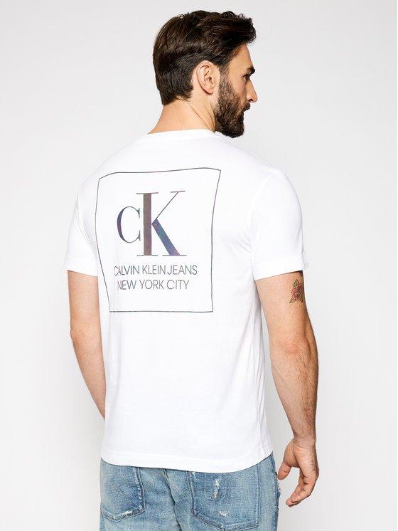 T-shirt Calvin Klein dietro 1
