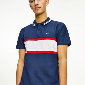 POLO UOMO TOMMY JEANS A RIGHE ORIZZONTALI
