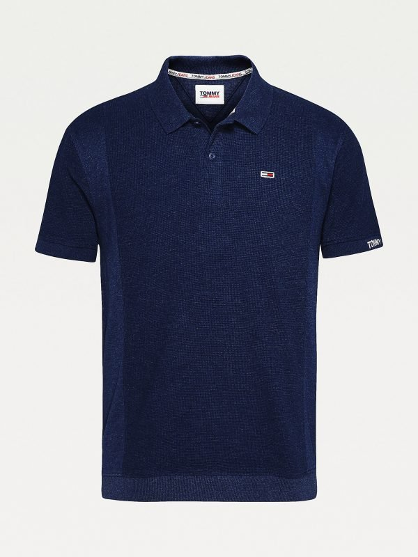 POLO RELAXED FIT IN TESSUTO A NIDO D'APE TOMMY JEANS