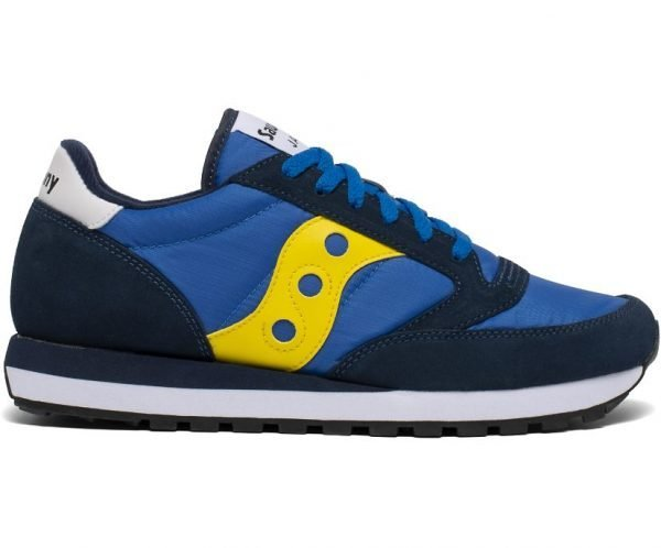 SNEAKERS UOMO SAUCONY ORIGINALS BLU LATERALE 2
