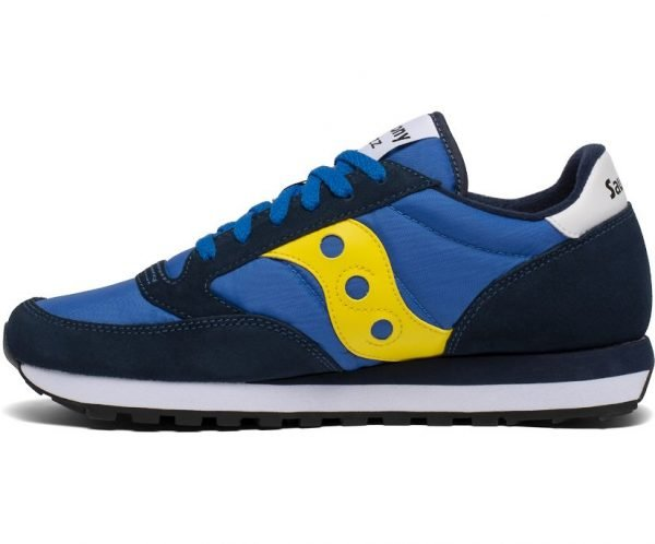 SNEAKERS UOMO SAUCONY ORIGINALS BLU LATERALE 1