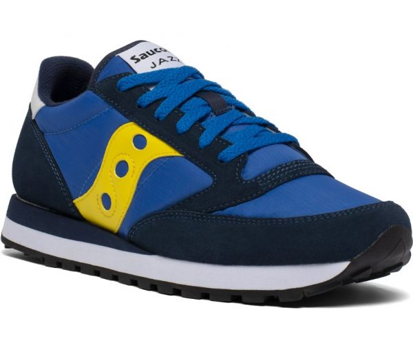 SNEAKERS UOMO SAUCONY ORIGINALS BLU DAVANTI