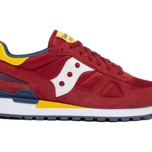 SNEAKERS UOMO SAUCONY SHADOW ROSSE