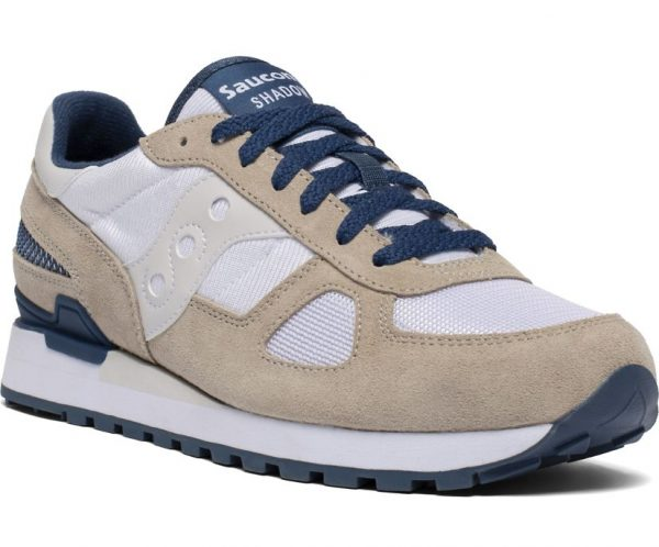 SNEAKERS UOMO SAUCONY SHADOW BIANCHE