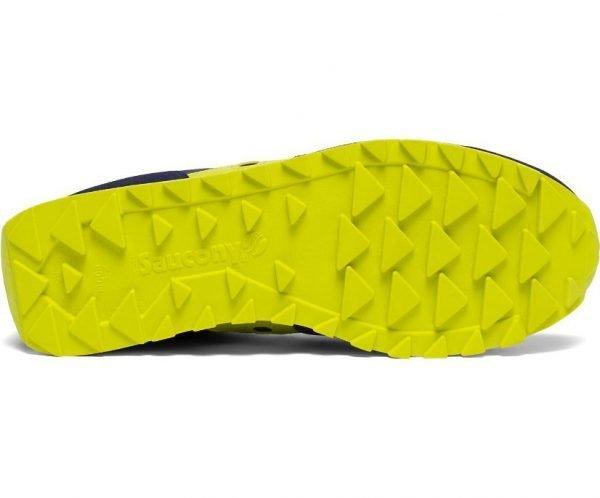 Sneakers Saucony Jazz Original Navy Yellow suola sotto