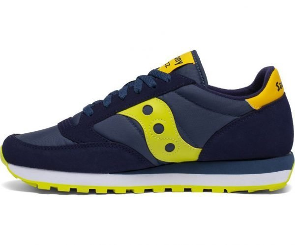 Sneakers Saucony Jazz Original Navy Yellow laterale