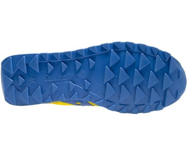 Sneakers Saucony Jazz Original Yellow Blue suola sotto