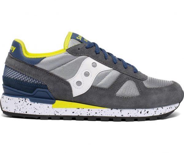 Sneakers Saucony Originals Shadow Grey Blue Yellow