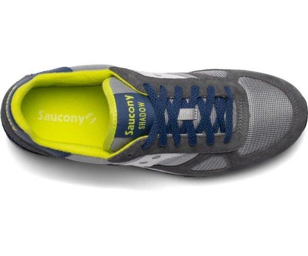 Sneakers Saucony Originals Shadow Grey Blue Yellow dall'alto